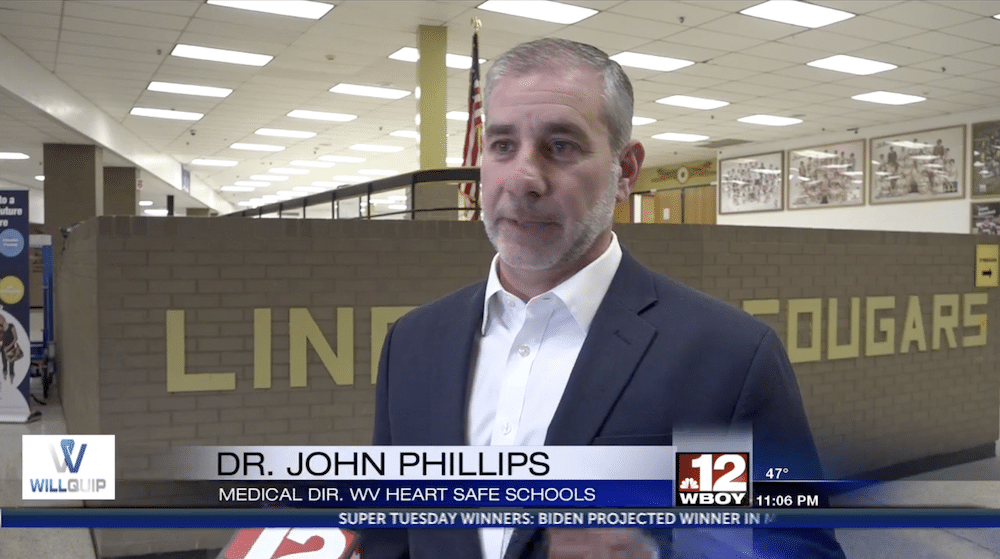 Dr. John Phillips - Med Director WV Heart Safe Schools